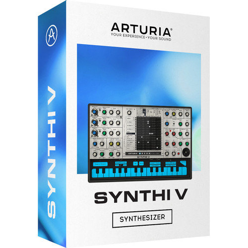 Arturia Synthi V Synthesizer - Software Synth for Pro Audio Applications (Download)