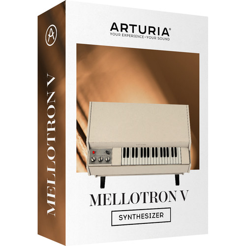 Arturia Mellotron V - Software Synthesizer for Studio and Live Use (Download)