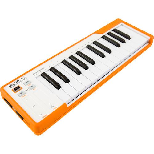 Arturia MicroLab - Compact USB-MIDI Controller (Orange)