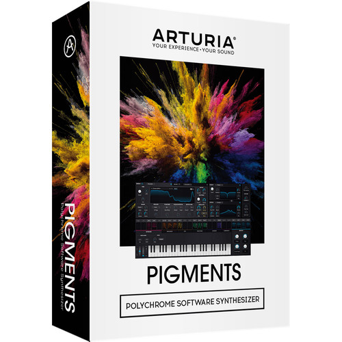 Arturia Pigments - Polychrome Software Synthesizer (Download)
