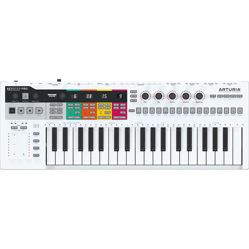 Arturia KeyStep Pro Keyboard with Advanced Sequencer and Arpeggiator