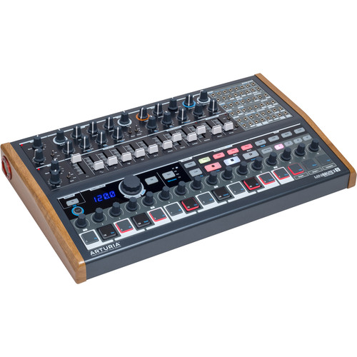 Arturia MiniBrute 2S Semi-Modular Analog Synthesizer/Sequencer with 48-Point Patchbay