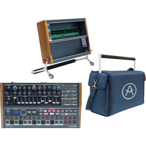 Arturia Art of Brute Bundle with MiniBrute 2S, RackBrute 6U, and BruteBag