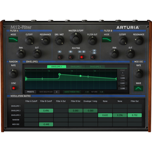 Arturia M12-Filter License (Download)
