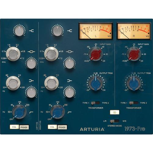 Arturia 1973-Pre Vintage Preamp Plug-In Licence (Download)