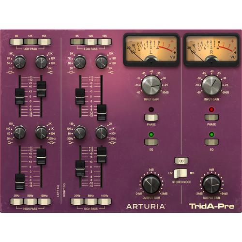 Arturia TridA-Pre Musical Equalizer Plug-In License (Download)