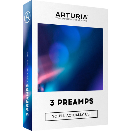 Arturia 3 Preamps Vintage Preamp Plug-in Licence (Download)