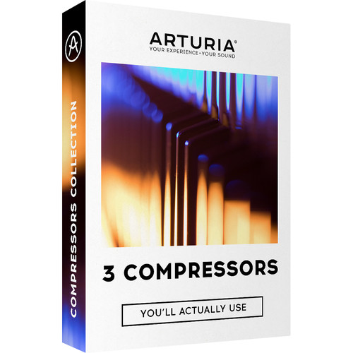 Arturia 3 Compressors You'll Actually Use - Analog-Modeled Software for Dynamic Processing in Mixing (Download)