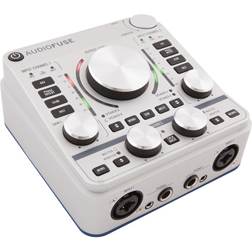 Arturia AudioFuse 14x14 Audio Interface (Silver)