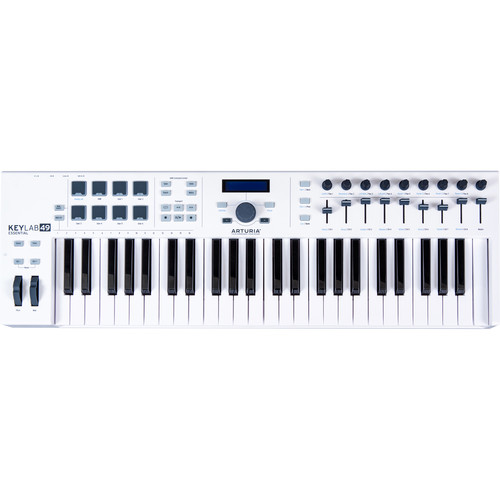 Arturia KeyLab Essential 49 - Universal MIDI Controller and Software