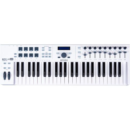 Arturia KeyLab Essential 49 - Universal MIDI Controller and Software