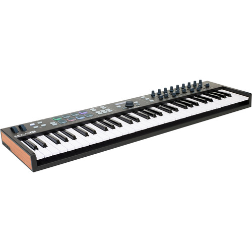 Arturia KeyLab Essential 61 - Universal MIDI Controller and Software (Black Edition)