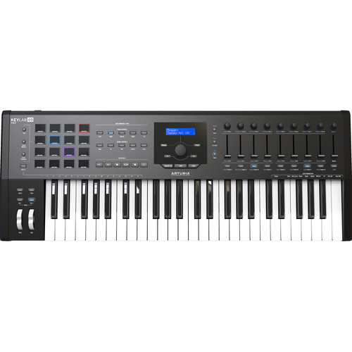 Arturia KeyLab MKII 49 - Professional MIDI Controller and Software (Black)