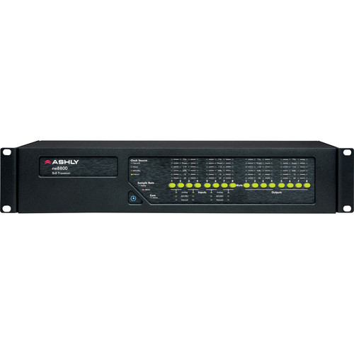 Ashly ne8800mm Network-Enabled Digital Signal Processor with 8-Channel Mic Inputs & Protea Software Suite