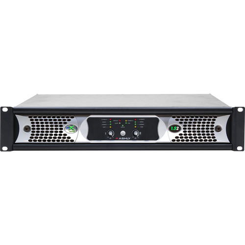 Ashly NXE Series 2-Channel Networkable Multi-Mode Power Amplifier with OPAES2, OPDAC4 & CNM-2 Cards