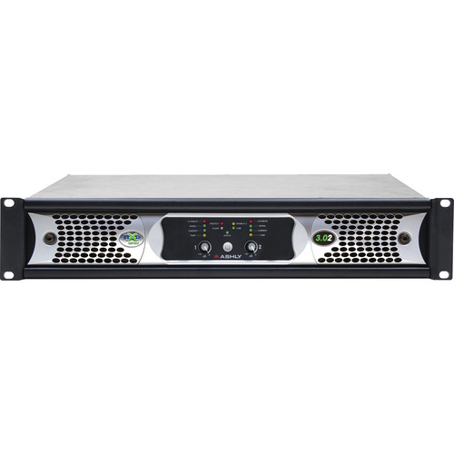 Ashly nXp3.02 2-Channel Network Power Amplifier