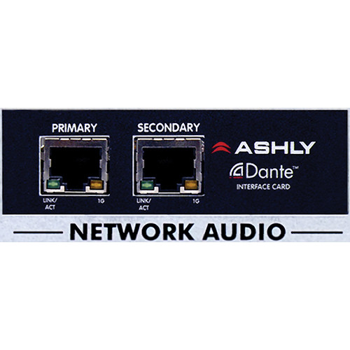 Ashly Dante Input Card for Network Amplifiers
