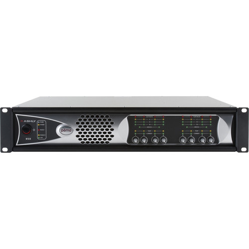 Ashly 8-Channel 1000W Pema Network Power Amplifier with OPDante Card & Protea DSP Software Suite (70V)