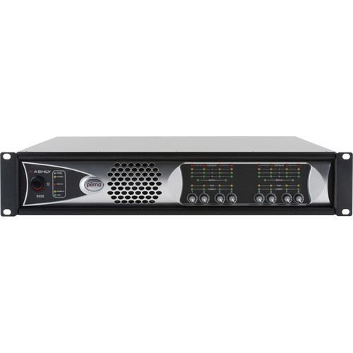 Ashly 8-Channel 2000W Pema Network Power Amplifier with OPDante Card & Protea DSP Software Suite (70V)