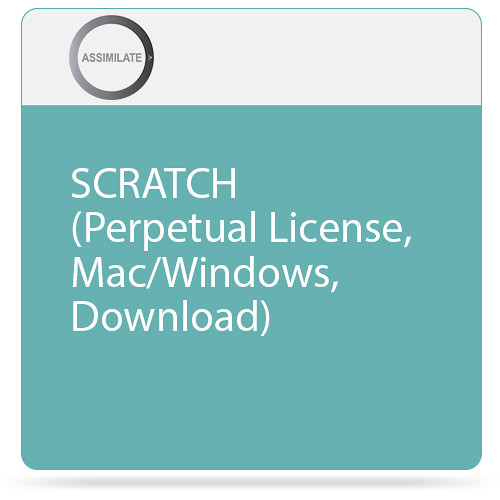 Assimilate SCRATCH for Mac/Windows (Perpetual License, Download)