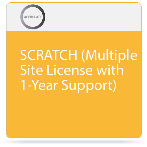Assimilate SCRATCH (Multiple Site License with 1-Year Support)