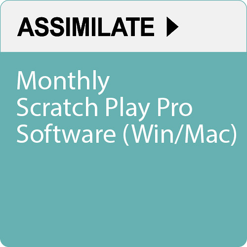 Assimilate SCRATCH Play Pro (Monthly Subscription, Download)