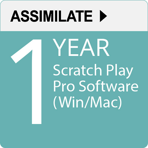 Assimilate SCRATCH Play Pro (1-Year Subscription, Download)