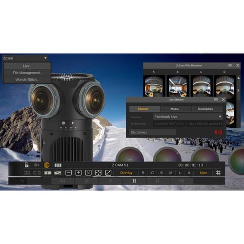 Assimilate Z CAM S1 Pro & SCRATCH VR Z Bundle