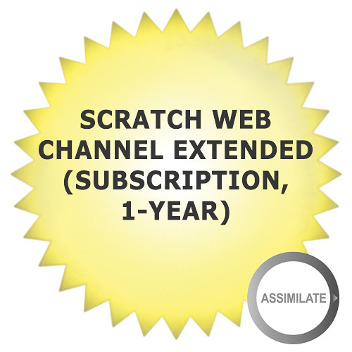 Assimilate SCRATCH Web Channel Extended (Subscription, 1-Year)