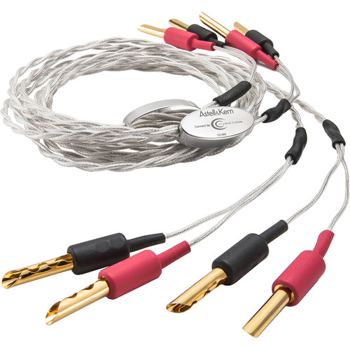 Astell & Kern Crystal Cable DEF21 Speaker Cable (Pair, 4.9')