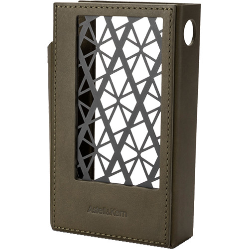 Astell & Kern Leather Case for KANN CUBE Portable Audio Player (Olive Green)