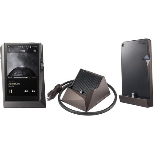 Astell&Kern AK380 Kit with Digital Audio Player, AK300 Series Amplifier & PEM13 Cradle (Meteoric Titan)