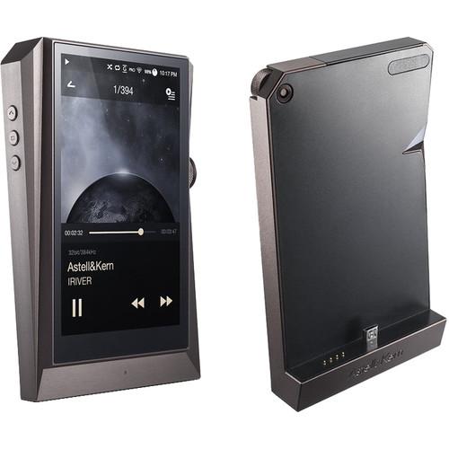 Astell&Kern AK380 Kit with Digital Audio Player and PEM13 Cradle (Meteoric Titan)