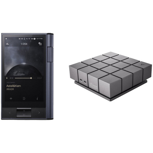 Astell&Kern KANN Portable High-Definition Sound System (Astro Silver) with CD Ripper MKII Kit