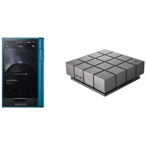 Astell&Kern KANN Portable High-Definition Sound System (EOS Blue) with CD Ripper MKII Kit