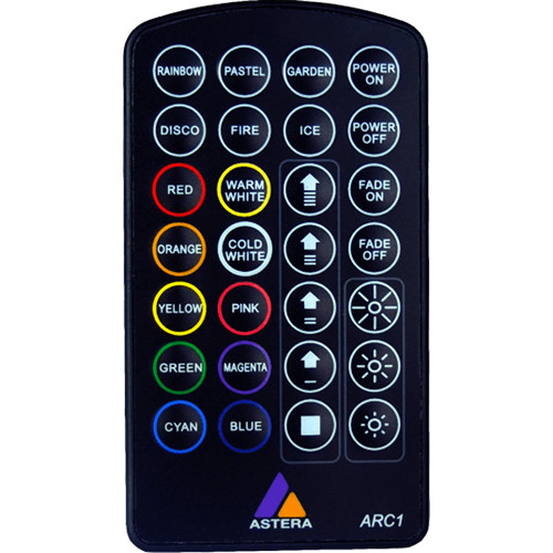 Astera Wireless LED IR Remote Control ARC1