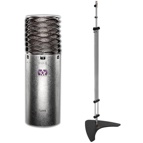Aston Microphones Spirit Microphone with Stylus Mic Stand Kit