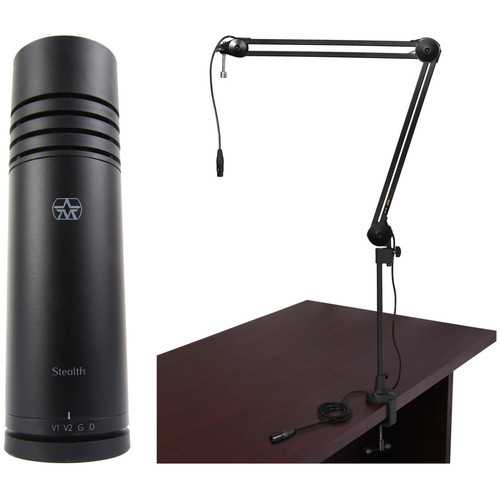 Aston Microphones Stealth One-Person Voiceover Kit