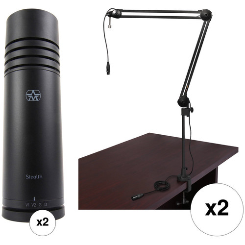 Aston Microphones Stealth Two-Person Voiceover Kit