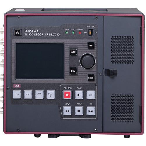 Astro Design Inc HR-7510 Portable Uncompressed 4K SSD Recorder