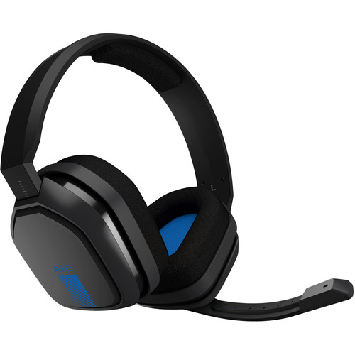 ASTRO Gaming A10 Wired Gaming Headset (Darker Gray / Blue)