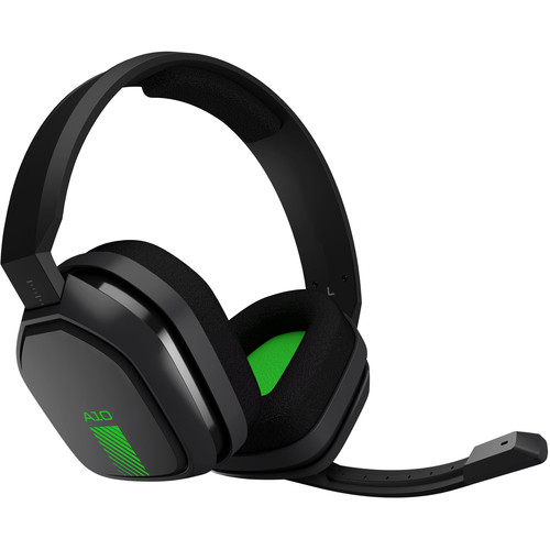 ASTRO Gaming A10 Wired Gaming Headset (Darker Gray / Green)