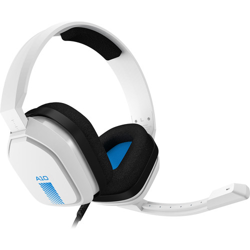 ASTRO Gaming A10 Wired Gaming Headset (White / Blue)