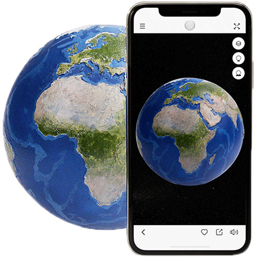 "AstroReality EARTH Globe (4.7"")"