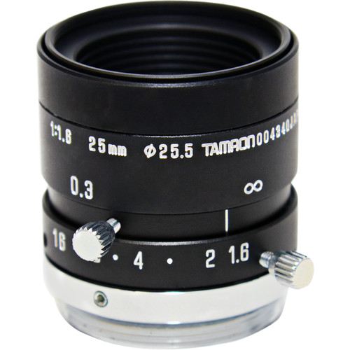 AstroScope 25mm f/1.6 C-Mount Objective Lens with Iris