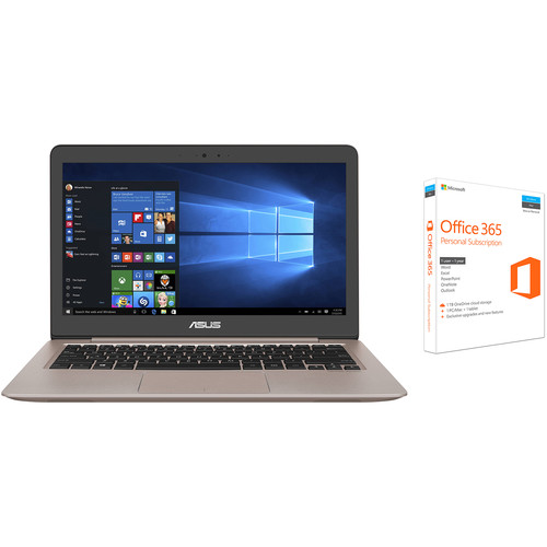 """ASUS 13.3"""" ZenBook UX310UA Notebook with Microsoft Office 365 Personal Kit"""