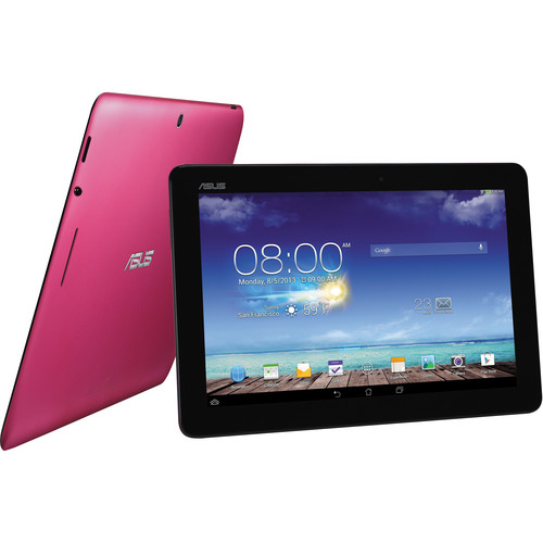 "ASUS 16GB MeMO Pad 10.1"" Multi-Touch Tablet (Cherry Pink)"