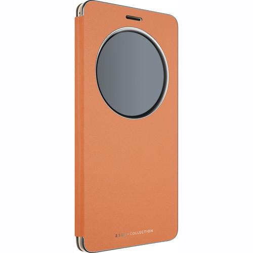 """ASUS View Flip Cover Deluxe Case for 5.7"""" ZenFone 3 (Orange)"""