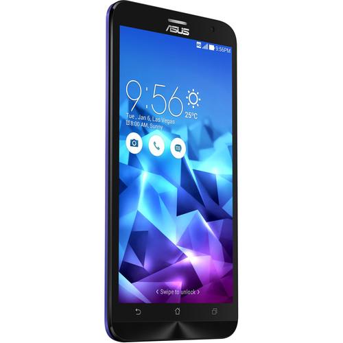 ASUS ZenFone 2 Deluxe ZE551ML 128GB Smartphone (Unlocked, Purple Polygon)