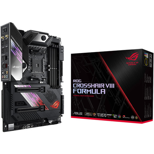 Placa base ASUS Republic of Gamers Crosshair VIII Formula AM4 ATX